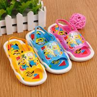 Wholesale children slip resistant shoes - children s clothing child summer slippers boys girls baby sandals slip resistant sound shoes for to years