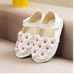 Wholesale Zapatos Flower Girl - Wholesale-2015 New Hollow Out children sandals euro Size 21-30 Zapatos para ninos Girl's Shoes Leather Shoes small flower girl shoes