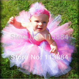 "Wholesale Infant Ballet - Wholesale-Hot Baby Tutu Dress Infant and Toddler Handmade Tutus with 4"" Daisy Flower Little Girls Tulle Ballet Dresses Free Shipping"