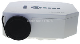 Wholesale Video Game Portable 3d - Wholesale-Worldwide ACTO portable mini led HDMI support 3D TV home theater projector full HD video games PS3 proyector white 640x480