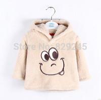 Wholesale Newborn Wadded Jacket Baby - Wholesale-Free shipping new 2015 baby clothing autumn winter baby outerwear child wadded jacket baby coat newborn cotton-padded jacket