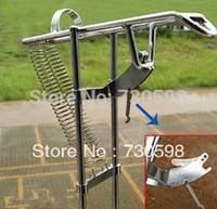 Wholesale Medium Angle - Wholesale-Sale Automatic Double Spring Angle Pole Fish Pole Bracket Standard Fishing Rod Holder