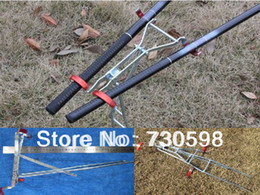 Wholesale Rod Fishing - Wholesale-Double Fishing Pole Bracket Fish Hand Sea Rod Tool Stand Holder