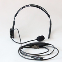 Gros- New arrivel Headset PTT Microphone Ecouteur Pour Kenwood TK-3107 radio bidirectionnelle Baofeng UV-5R UV-B6 UV-82 BF-A52 BF-F8 + TG-UV2