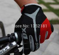 Wholesale Motocross Biking Gloves - Wholesale-New hot sale GEL Bike Bicycle Gloves Full Finger Motocross Riding Dirt Bike BMX Cycling Biking Gloves