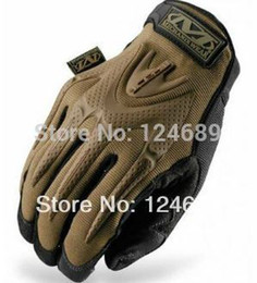 Wholesale Mechanix Gloves Free Shipping - Wholesale-Free shipping 2015 New Sale Mechanix Wear M-PACT gloves Mechanic Gles brand Safety Gloves 4 size racing gloves,tactical gloves