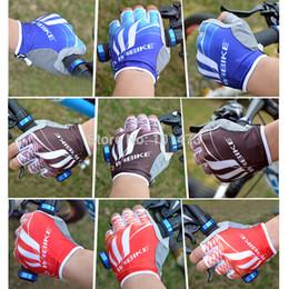 Wholesale Bikes Accesories - Wholesale-Inbike Cycling Gloves Half Finger Bike Gloves 3 Colors M-XL Bicycle Gloves Tactical Gloves Bike Accesories IF208