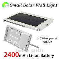 Wholesale Slim Solar Panel - Wholesale-Free Shipping Ultra-Slim All In One Small Solar Panel Powered LED Outdoor Light Garden Solar Outdoor Light Lamp 5pcs Lot