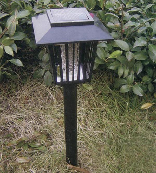 Online Cheap Led Garden Lights Solar Ground Powered Pest Killer Mosquito  Repeller Landscape Zapper Light Black By Godspeed | Dhgate.Com