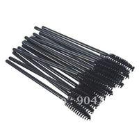 Wholesale Elbowed Brush - Wholesale-100PCS Cosmetic brush eyelash brush eyelash comb eyebrow brush eyebrow comb elbow disposable mascara brush
