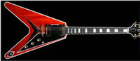 NEW Arrival Custom Shop FlyingV Electric Guitars in Red CHIN...