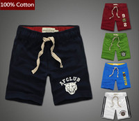 Wholesale Cotton Trousers Shorts For Men - Wholesale-Brand Design Cotton Beach Shorts for Man Hot Summer Swimmer Short Pants Men Casual Male Sporting Short Trousers JMS