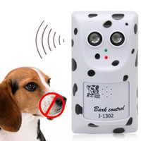 Wholesale Ultrasonic Outdoor Bark Control - Wholesale-Humanely Ultrasonic Anti No Bark Control Device Stop Dog Barking Silencer Hanger for Outdoor Use