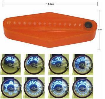 LED Bike cycling Bicycle wheel Spoke 36 light patterns