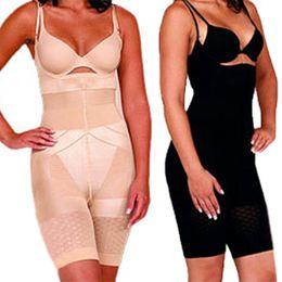 Wholesale Burn Free - Wholesale-Beauty Slimming Burn Fat Spanx Shapewear Tummy Slim Bodysuit Full Body Shaper Free&DropShipping