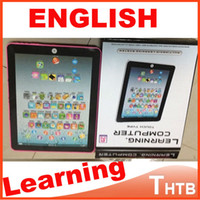 Wholesale English Ypad - Wholesale-English Language Ypad kids toys Children's Electronic Computer Machine tablet infant educational toy learning & education