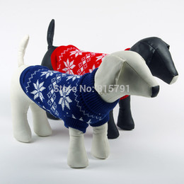 Wholesale Dachshund Clothes - Wholesale-Free Shipping Christmas dog clothes pet sweater wholesale Chicdog dog clothing autumn winter cheap pets dachshunds pitbull cats