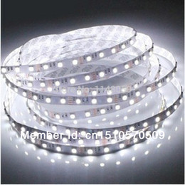 Wholesale Color Led Strip Water Proof - Wholesale-5m 300 LED 3528 non-water proof SMD 12V flexible light 60 led m,6 color LED strip white warm white blue green red yellow
