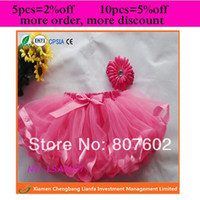 Wholesale Pink Chevron Ribbon - Wholesale-HOT PINK pettiskirt one piece selling ribbons tutus chevron tulle skirt
