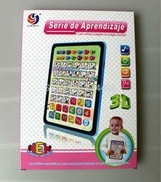 Wholesale Tablet Spanish Toys - Wholesale-Ypad Spanish and English Educational baby toys,kids learning tablet learning & educational toys,2 Colors Mixed