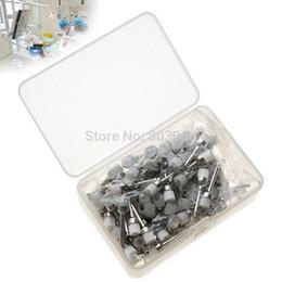 Wholesale Whitening Pens - Wholesale-High quality 1 Pack Dental Prophy Brush latch flat White Nylon Bowl Shape Polishing Brush 144PCS Pack