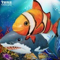 bprice-bprice prices - Wholesale-2015 the third generation air fish, rc shark, clown fish, nemo, inflatable with helium air, diy toy & hobby, free shipping