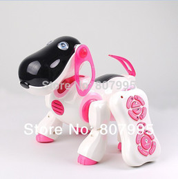 Wholesale Smart Dog Infrared - Wholesale-Free Shipping New Arrival Smart Toy Dog Infrared Remote Control Series High Quality Cute Dog remote control toys classic toys