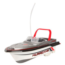 Wholesale Selling Radio Control Toys - Wholesale-Best selling Red Radio RC Remote Control Super Mini Speed Boat Dual Motor Kids Toy best sale I-eat
