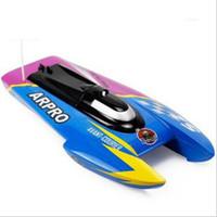 oyuncaklar için motorlar toptan satış-Toptan-Ücretsiz kargo 3352 40 cm uzaktan radyo kontrol rc sürat teknesi gemi modeli, su oyuncak ile çift motorlu + toptan