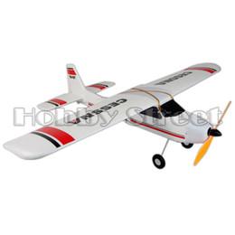 Wholesale Cessna Rc Rtf - Wholesale-EPO Airplane Cessna 4CH RC model Aircraft RTF EPO 940mm Toys 747-1
