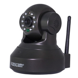 Wholesale Ir Motion Camera Micro Sd - Wholesale-New Webcam with TF Micro SD Card Slot Cell Phone Remote View Pan Tilt Rotate Motion Detection IR Night Vision Network IP Camera