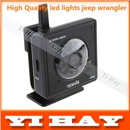 Wholesale Tenvis Wifi Wireless Security Ip - Wholesale-Freeshipping Black Tenvis Mini319W Wireless IP Camera WiFi CMOS IR LED 2-Way Audio Night Vision CCTV Security System wholesale