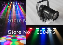 Wholesale Pinspot Led - Wholesale-Free shipping RGBW Black cover 10W Cree lamp 4in1 LED Pinspot Light DMX 512 control LED Rain stage light