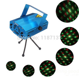 Wholesale Multi Dj Laser Lights - Wholesale-Portable multi LED bulb All strat music Laser Stage Lighting Adjustment DJ Party Wedding Club Projector