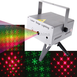 Wholesale Star Projector Sounds - Wholesale-YX-026, 3-color LED Multifunction Disco DJ Club Holographic Laser Star Projector, Support Sound Active