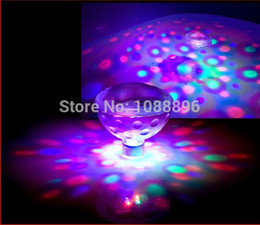 2020 luces led spa piscina Al por mayor-Submarino flotante LED AquaGlow Light Show para estanque al aire libre Piscina Spa Bañera de hidromasaje Disco luces led spa piscina baratos