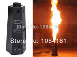 Wholesale Dmx Fire Machine - Wholesale-2pcs Lot DMX 200W fire machine stage fire flame machine FREE Shipping