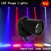 Wholesale Small Led Spotlights - Wholesale-The new LED stage lights drizzle strong small spotlights LED beam light bar KTV stage lighting par light rain