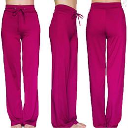 Wholesale Sportswear For Thin Women - Wholesale-Xxl Yoga Pants Plus Size Women Sportswear Clothing For Sport Trousers Plus Size Milk Silk Thin Trousers Casual Fitness Yoga Lady
