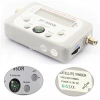 спутниковые датчики оптовых-Оптовая продажа-спутниковый сигнал Finder метр Satfinder инструмент LCD DIRECTV блюдо FTA ТВ Singnal Finder рецептор спутниковый цифровой hd