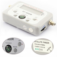 Wholesale Digital Tv Finder Meter - Wholesale-Satellite Signal Finder Meter Satfinder Tool LCD DIRECTV DISH FTA TV Singnal Finder receptor satellite digital hd