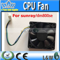 Wholesale Sunray4 Hd Se - Wholesale-partner CPU Fan for dm800se dm800HD se DM500HD 500HD sunray4 Fan satellite receiver cable receiver by china post free shipping