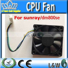 Wholesale Fan Cables - Wholesale-partner CPU Fan for dm800se dm800HD se DM500HD 500HD sunray4 Fan satellite receiver cable receiver by china post free shipping