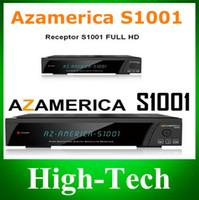 Wholesale Satellite Receiver Remote Control - Wholesale-1pc Remote Control for AZ america S1001 satellite receiver S1001 remote control Free Shipping post