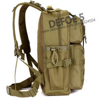 Wholesale Swat Tactical Molle Assault Backpack - Wholesale-Outdoor Military Tactical Assault Backpack Molle System 3 day Life Saver Bug Out Bag Survival SWAT Police Carry Free Shipping