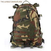 Wholesale Multicam Free - Wholesale-2015 Tactical men's backpack waterproof canvas militari multicam bag camouflage back pack for men free shipping