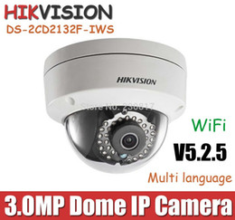 4mm camera online shopping - mm mm Hikvision P wireless WiFi IP Camera POE DS CD2132F IWS MP with TF Card Slot amp Audio CCTV camera