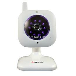 E-mail-versand online-Großhandels-Freie Verschiffen-Mini-IP-Kamera mit Nachtsicht, Bewegung Detecton und eMail-Warnung, IP-Kamera Apexis für Haus-Überwachung