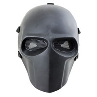 Wholesale Airsoft Full Face - Wholesale-Army of Two Mask Fibreglass Airsoft Paintball Helmet (Black) Free shipping So the lowest price