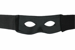 Wholesale Black Mask Zorro - Wholesale-Free Shipping 50pcs lot Black Bandit zorro mask